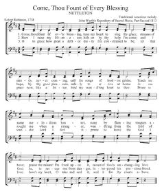 Great site for hymns - you can listen online and sing along. Also includes a devotional, hymn story and scriptural references for each one. love it!