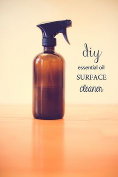 A super simple recipe for surface cleaner that works. Inexpensive to make! Ive used this for years and have yet to buy a store brand cleaner since.