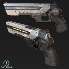 Nesar Alam Ansari Anime Weapons, Sci Fi Weapons, Weapon Concept Art, Armor Concept, Weapons Guns, Fantasy Weapons, Guns And Ammo, Armes Futures, Sci Fi Waffen