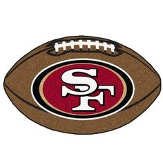 Fanmats 5835 NFL - San Francisco 49ers Football Mat - List price: $29.99 Price: $17.79 + Free Shipping
