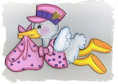 Baby Shawer, Baby Love, Baby Shower Games, Baby Boy Shower, Storch Baby, Ideas Para Fiestas, Stork, Paper Piecing, Decoupage