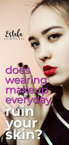 Feb 2020 - Does wearing makeup everyday ruin your skin? A clean face will help give you clear skin with the right acne skin care routine in place. Get more face care tips from Estala Skin Care. Face Care Tips, Skin Care Tips, Hand Care, Skin Care Remedies, Clean Face, Acne Skin, Skin Firming, Everyday Makeup, Skin Treatments