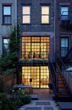Completed in 2014 in New York, United States. Images by Ty Cole Photography . This 4 story Italianate row house was was converted from a three family to a single-family house with original interior details carefully restored. ...