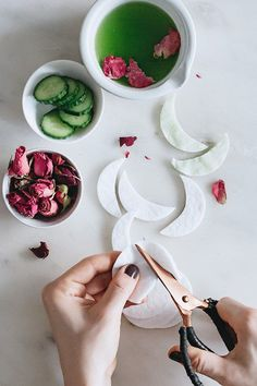 Cucumber & Rose Under-Eye Mask