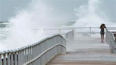 Residents are urged to prepare for the superstorm as Hurricane Sandy approaches the Eastern Seaboard
