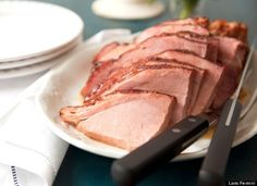 Brown sugar and spice baked ham