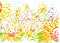 Ojamajo Doremi 16 - Umakoshi Yoshihiko Illustrations - L'Antre de la Fangirl