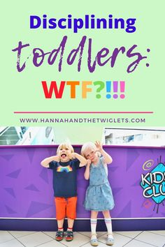How on earth do you go about disciplining toddlers? In this post I share my struggles with trying to discipline my twins. Twin Toddlers, Parenting Toddlers, Kids Behavior, Child Behaviour, Disciplining Toddlers, Toddler Discipline, Attachment Parenting, My Struggle, One Year Old