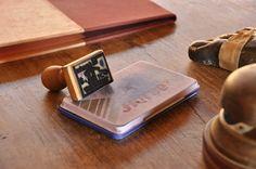 Nuestro sello de caucho es en el Albergue Las Águedas una de las primeras cosas que tuvimos...las credenciales de los peregrino que van a Santiago de Compostela llevan nuestro sello desde 2004!!
