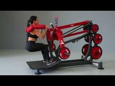 1HP591 – Squat Machine - YouTube Home Workout Equipment, Sports Equipment, Fitness Equipment, Squat Machine, Gym Machines, Free Weights, Relaxing Yoga, Gym Design, At Home Gym