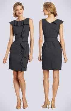 Calvin Klein  Charcoal Work Dress
