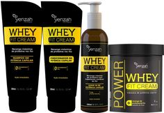 Whey protein funciona para cabelos YENZAH tratamento para cabelos secos