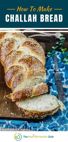 Anyone can make this amazing Challah Bread! Easy and the leftovers make great French Toast! Enjoy this with your family and friends for a treat they wont forget.