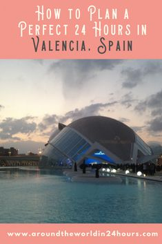 What if I told you that you could spend a wonderful one day in Valencia itinerary with the City of Arts and Sciences without even going inside a building? Don't believe me, Internet Stranger? Just join me for a day of delicious food, stunning public art, and wacky hijinks while pretending to be an American college student. It all starts now! #valencia #spain