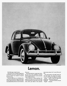 VW Beetle / Kever - Lemon