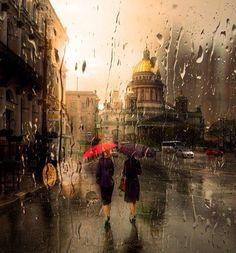 Rain in the Capitol