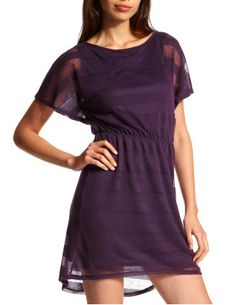 This dress is cute, and I love purple!