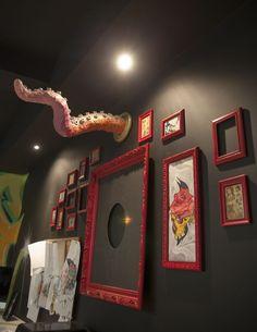 Tattoo Shop Decor on Pinterest | Tattoo Shop, Tattoo Studio and ...