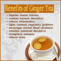 THE BENEFITS OF GINGER ARE HUGE