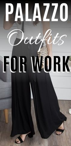 Palazzo Pants Outfit For Work. 14 Budget Palazzo Pant Outfits for Work You Should Try. Palazzo pants for fall casual and boho print. #womensfashion #chicfashion #fashion2019 #fashiontrends #workfashion #weartowork