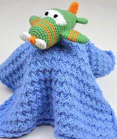 Crochet Pattern: Little Airplane Lovey
