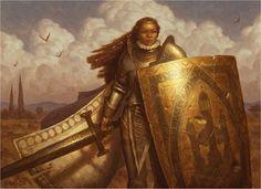 Valiant Guard by Chris Rahn