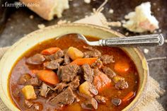 Slow Cooker Hungarian Goulash {Hungary & Austria} » a farmgirl's dabbles