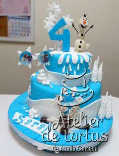TORTAS DE FROZEN Frozen, Birthday Cake, Desserts, Food, Food Cakes, Tailgate Desserts, Deserts, Birthday Cakes, Essen