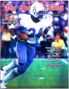 Earl Campbell American Football League, Football Team, Bum Phillips, Best Running Backs, Texas Legends, Earl Campbell, Houston Oilers, Thanks For The Memories, Tennessee Titans