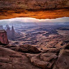 Mesa Arch Sunrise - Canyonlands National Park, Utah