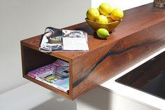 Kuchyň ze starého dubového dřeva | nábytek LE BON