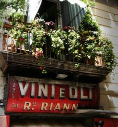 Vintage storefront in the heart of Naples