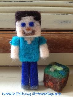 Minecraft Steve & Dirt