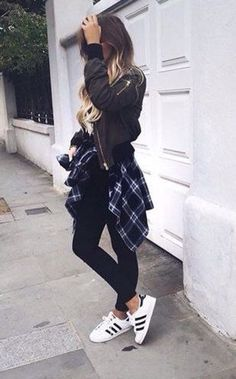 Adidas Superstar Outfit Pinterest