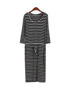 t-shirt dress striped - Google-haku