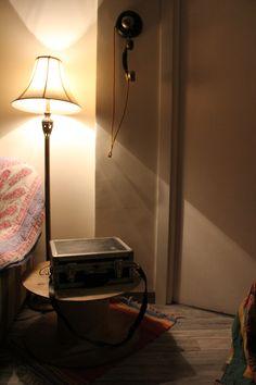 lampara y maletin