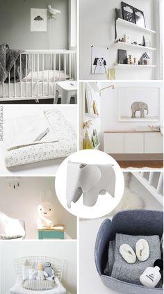 shelf / life Nursery moodboard