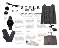 """DLRBOUTIQUE.COM"" by ice87 ❤ liked on Polyvore featuring Yves Saint Laurent, Gap, Acne Studios, CLUSE and Fallon"