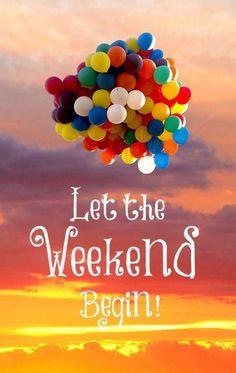 ¡Feliz fin de semana! #HappyWeekend