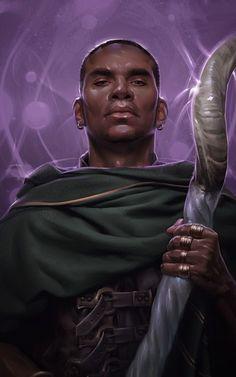 Wizard by Kieran Yanner source: kieranyanner.com