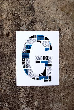 The Letter G in Typography