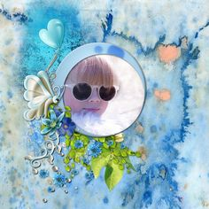 Songes Bleus d'Elyscrap - Paradise Scrap