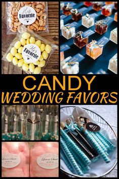 Wedding bells are ringing and you need to find the BEST wedding favors. Here are some AMAZING Candy wedding favors you will love! Wedding Favours For Female Guests, Summer Wedding Favors, Candy Wedding Favors, Candy Favors, Unique Wedding Favors, Bridal Shower Favors, Our Wedding Day, Unique Weddings, Wedding Shit