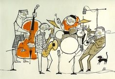"holespoles: ""Akira Sorimachi ""Modern Jazz"" ソリマチアキラ : Modern jazz | 作品 | 東京イラストレーターズソサエティ (TIS) """