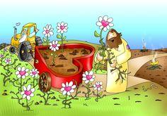 Quita nuestras zarzas y planta nuestras raíces en ti.