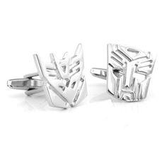 transformers cufflinks. deceptacon or autobot?