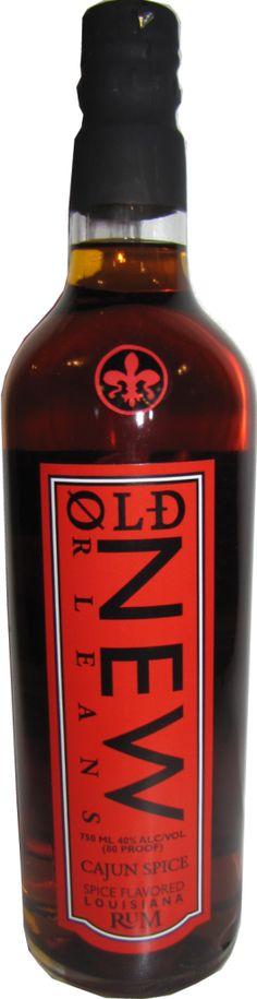 Old New Orleans Cajun Spice Rum