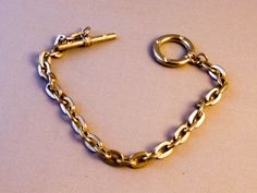 "Woman""s Silver Oval Link Chain Bracelet   7 Inch    Silver Tone Chain by GemstoneCowboy on Etsy"