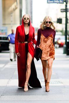 New york fashion week mode statements, new york street style, nyfw street s New York Street Style, Street Style Trends, Street Style Chic, Looks Street Style, Spring Street Style, Cool Street Fashion, Look Fashion, Korean Fashion, Fashion Outfits