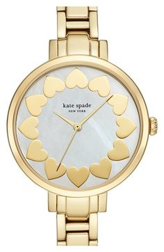 kate spade new york bracelet watch, 34mm available at #Nordstrom